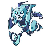 Blurr Transformers Animated Photographic Print