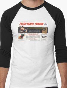 retro remote Men's Baseball ¾ T-Shirt