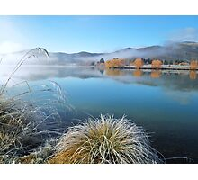 """""""frosted reflection""""    twizel, south island, new zealand Photographic Print"""