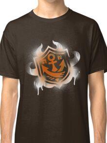 Splatoon Inspired: Graffiti Ranked Battle Icon(White) Classic T-Shirt