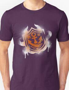 Splatoon Inspired: Graffiti Ranked Battle Icon(White) T-Shirt