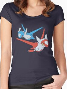 Latias and Latios - Eon Women's Fitted Scoop T-Shirt