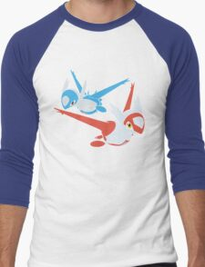 Latias and Latios - Eon Men's Baseball ¾ T-Shirt