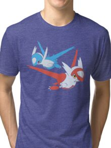 Latias and Latios - Eon Tri-blend T-Shirt