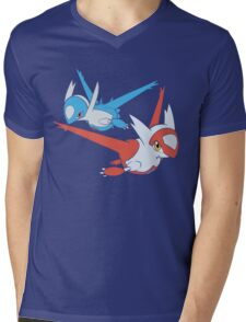 Latias and Latios - Eon Mens V-Neck T-Shirt