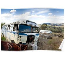 Graveyard of Buses #1 Poster