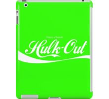 Enjoy Smash, Hulk-Out Logo iPad Case/Skin