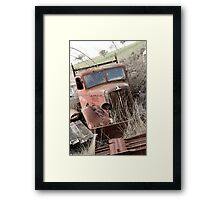 Not a Toyota Hilux! Framed Print