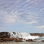 Oceanic Waterfall by Beth  Wode