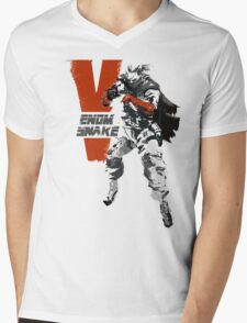 MGSV Retro Venom Snake Mens V-Neck T-Shirt