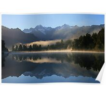 """misty matheson""   fox glacier, south westland nz Poster"