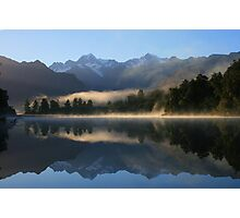 """misty matheson""   fox glacier, south westland nz Photographic Print"