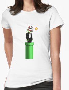Piranha Plant Travel Womens Fitted T-Shirt