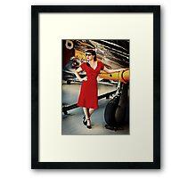 ReenaRose Pinup 01 Framed Print