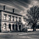 Post Office and Town Hall (Split Toned) - Clunes by Jason Ruth