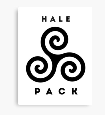 Hale Pack Swag Canvas Print