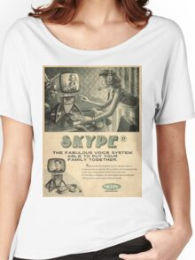 skype Women's Relaxed Fit T-Shirt