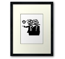 Piranha Fiction Version 3 Framed Print
