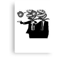 Piranha Fiction Version 3 Canvas Print