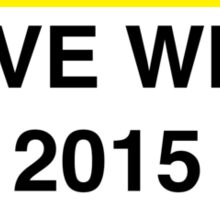 Love Wins 2015 Sticker