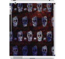 Broken Skull Print iPad Case/Skin