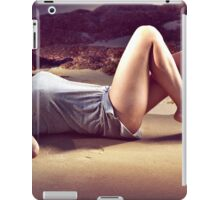 Sunbathed - Erotic art prints, erotic photography iPad Case/Skin