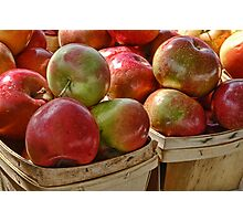Market Apples Photographic Print
