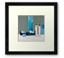 Blue Zen Framed Print