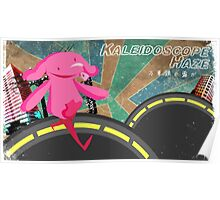 Kaleidoscope Haze: Dosco The Elephant Poster