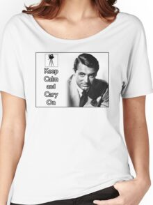 Keep Calm and Cary On Women's Relaxed Fit T-Shirt