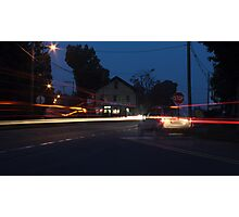 The Ghost Vehicle Photographic Print