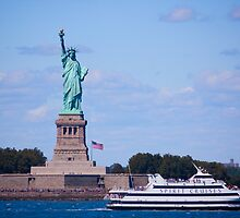 Statue of Liberty - New York City by Josef Pittner