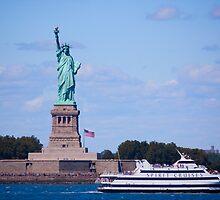 Statue of Liberty - New York City by Josef Pittner