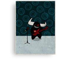 fuzzy demon rockstar Canvas Print