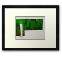 Zen Green II Framed Print