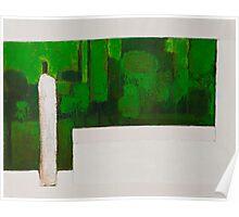 Zen Green II Poster