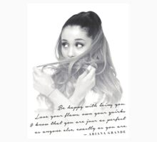 Ariana Grande Quote #1 by GenesisDesigns