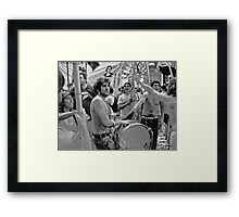 Buenos Aires Demo  Framed Print