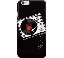 Record Player Audio Analog Vinyl Old School Music Geek Vintage Design iPhone Case/Skin