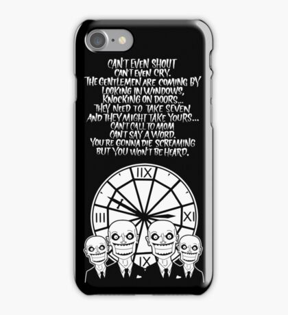 HUSH Clocktower poster iPhone Case/Skin