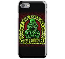 Great Cthulhu ( En Scarlette ) iPhone Case/Skin