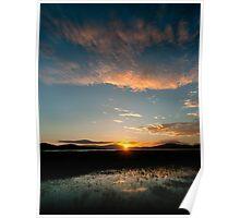 Mareeba Wetlands at Sunset,FNQ. Poster