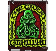 Great Cthulhu ( En Scarlette ) iPad Case/Skin