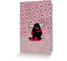 fuzzy demon ladykiller Greeting Card