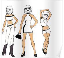 Stormtroopers After Dark Poster