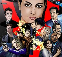 """The Visitors Strike Back from ABC's """"V"""" by rictor"""