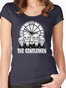 The Gentlemen Logo Women's Fitted Scoop T-Shirt