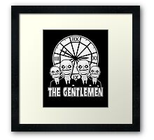 The Gentlemen Logo Framed Print