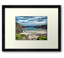 The Hidden Bay Framed Print