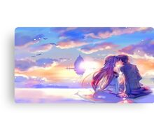 Sword Art Online - Asuna and Kirito Canvas Print